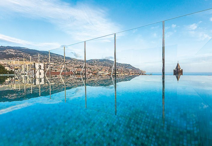 Castanheiro Boutique Hotel Funchal - Der Infinity Pool