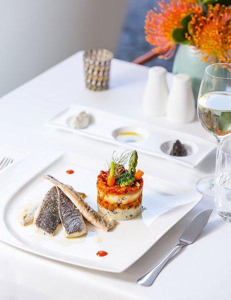 Castanheiro Boutique Hotel Funchal - Vorspeise beim Dinner