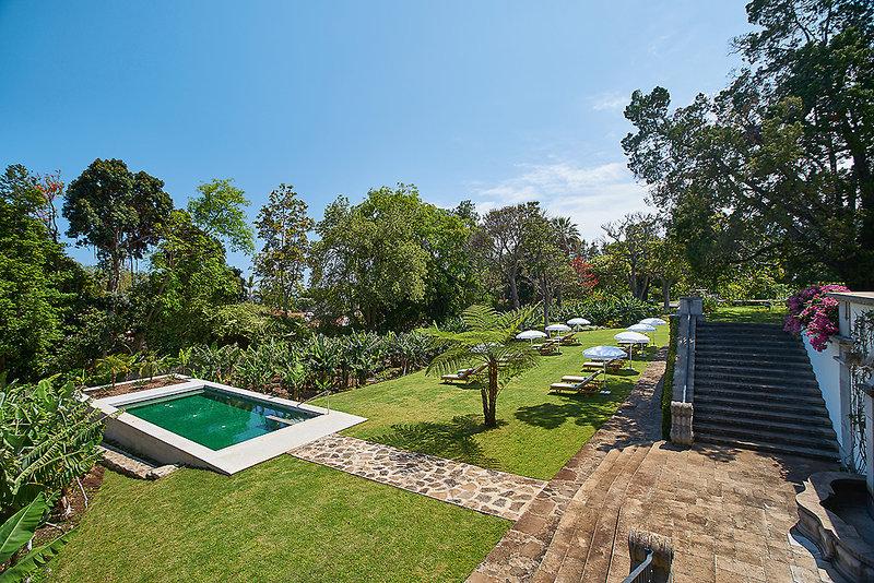 Estalagem Funchal Madeira - Relax und Seele baumeln im Garten