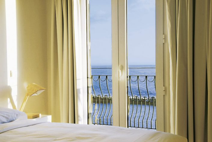 Hotel Da Vila Madeira - Blick auf den Atlantik aus dem Bett