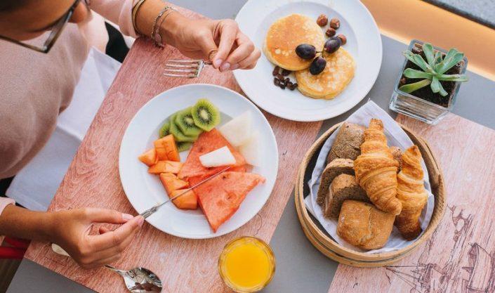 Pestana Churchill Bay Madeira - Frühstück unter freiem Himmel