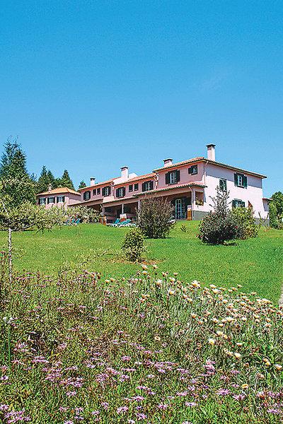 Quinta Santo Antonio Madeira - Anblick der Quinta aus dem Garten