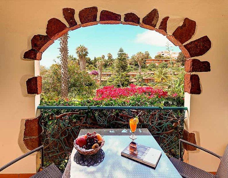 Quinta Splendida Wellness Madeira - Ein Drink mit wundervollem Ausblick