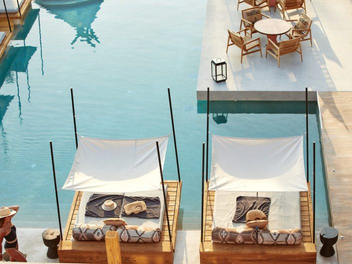 The Syntopia Kreta Adultsonly - Double Relax Beds am Pool