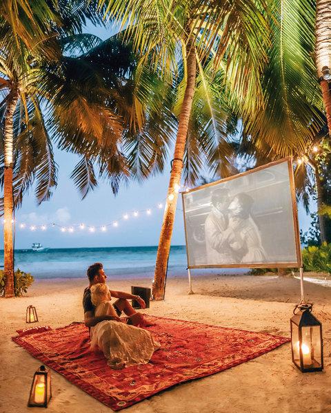Cinema am Strand