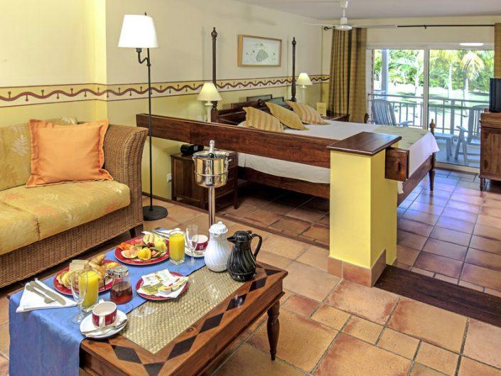Frühstück auf dem Zimmer/in der Suite