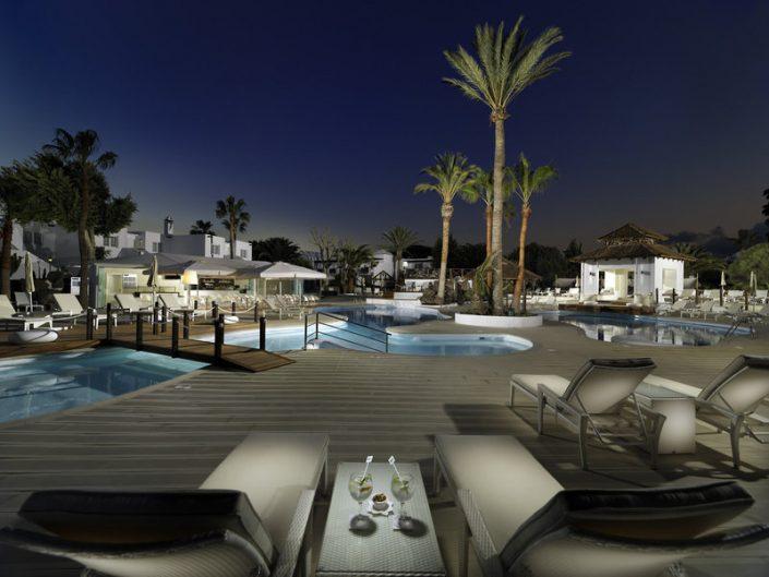 H10 White Suites Lanzarote - Ruhige Abendstimmung
