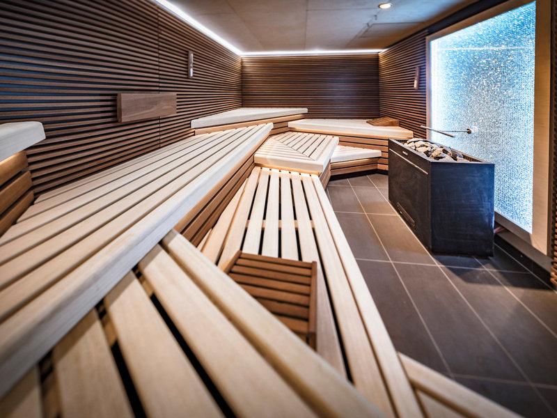In der Sauna
