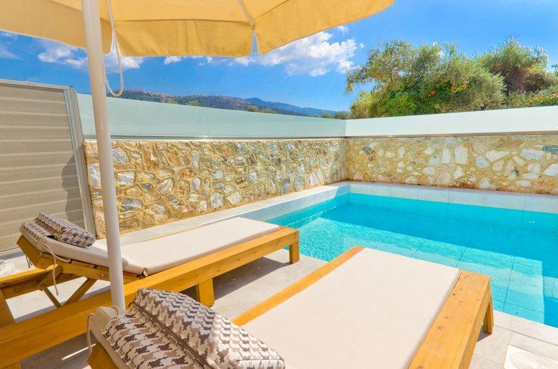 Alea Hotel Suites Thassos - Wohnbeispiel mit private Pool