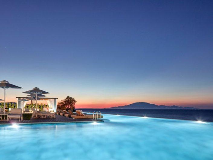 Lesante Blu Exclusive Zakynthos - Den Sundowner Drink gibts auch gleich