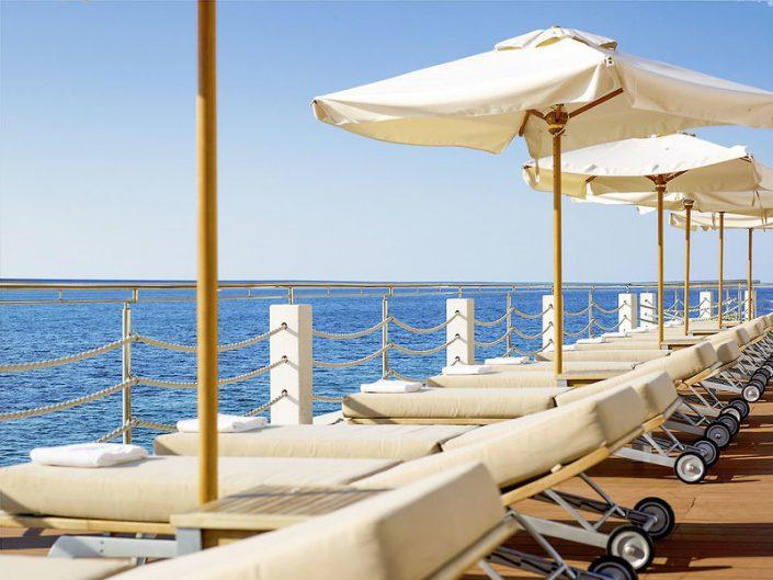 Park Plaza Histria Kroatien - Top Badeterrasse am Mittelmeer