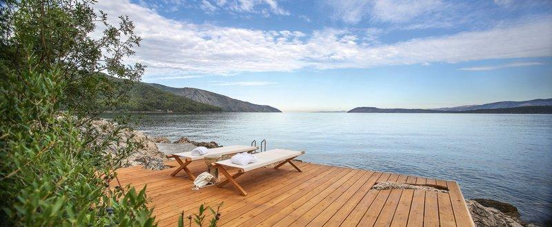 Entspannen mit weitem Blick über das Meer