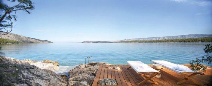 Maslina Resort Hvar - Entspannen mit weitem Blick über das Meer