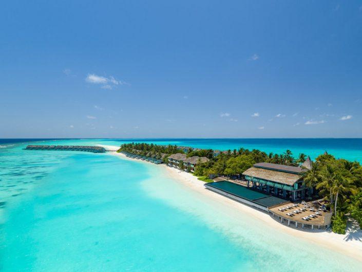 Strand und Restaurants