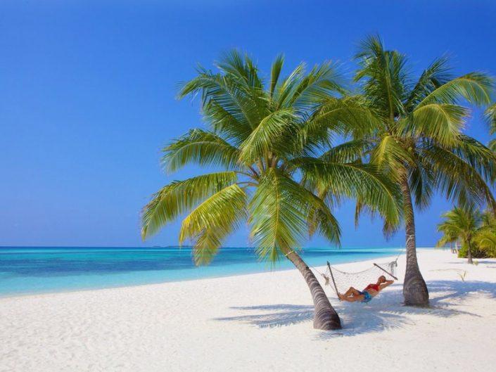 Kuredu Island Urlaub - Träumen am Strand
