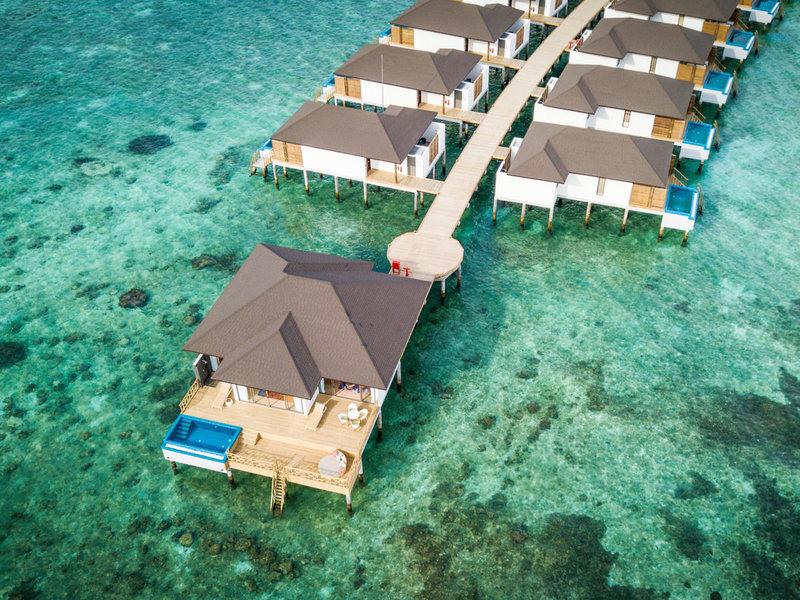 ROBINSON Noonu Malediven - Villen mit oder ohne private Pool