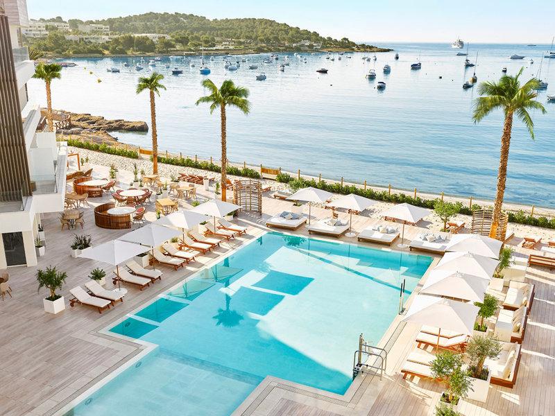 Nobu Luxus Strand Resort - Pool, Bar und Bucht