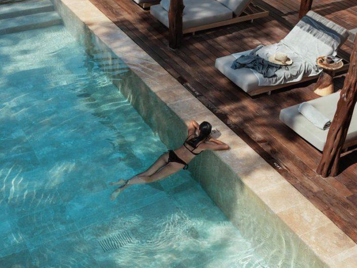 Hotel OKU Ibiza - zum Abkühlen nach einem guten Buch in den Pool