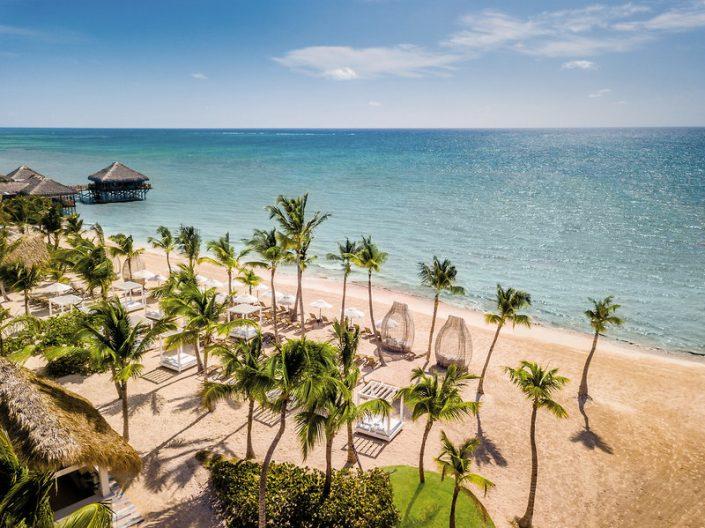 Sanctuary Dominikanische Republik - Blick über den wundervollen Strand