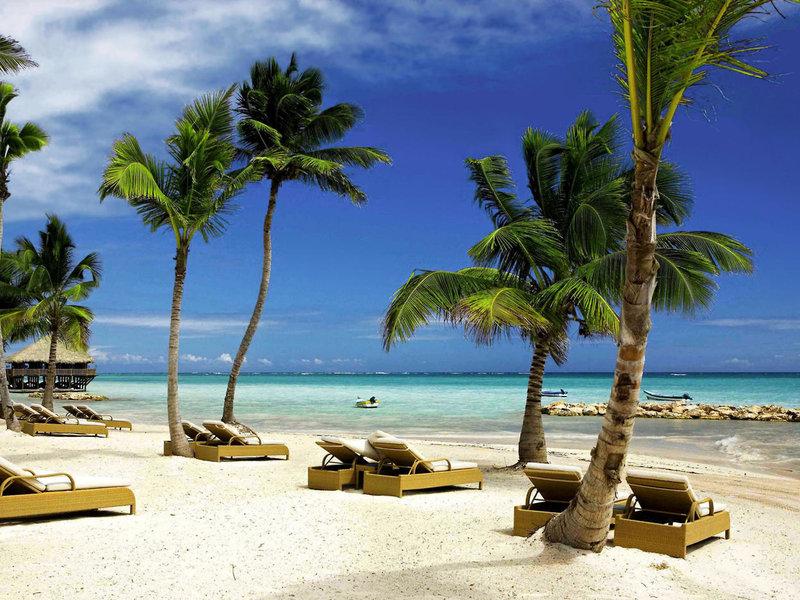 Relaxliegen am Strand