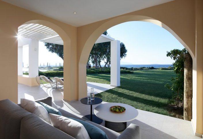 Neptune Hotels Kos - Wohnbeispiel mit Terrasse