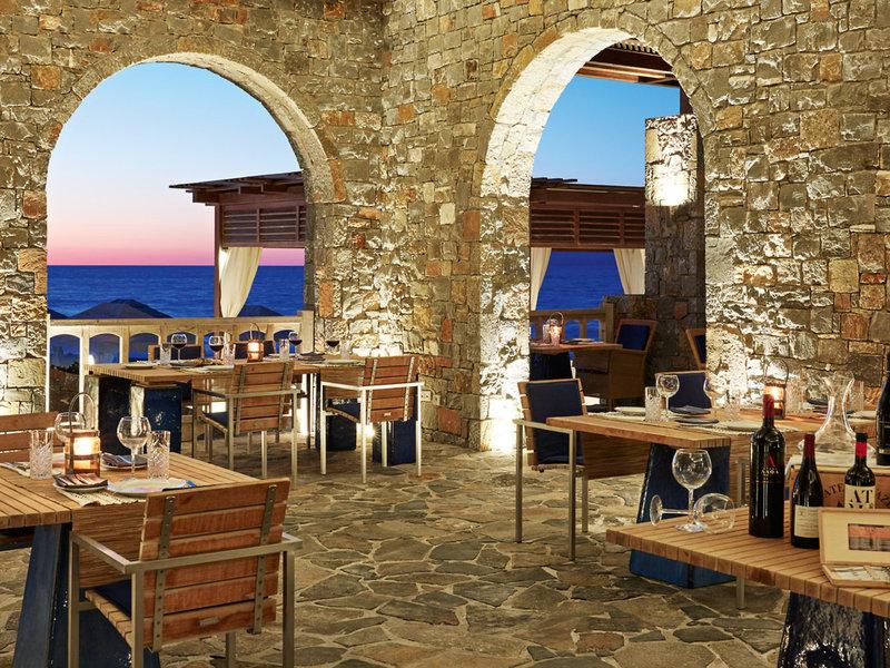 Amirandes Grecotel Kreta - Im Restaurant am Abend