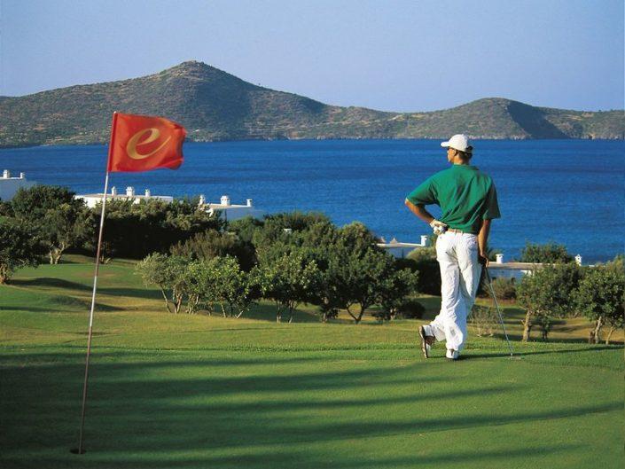 Beim Golfen