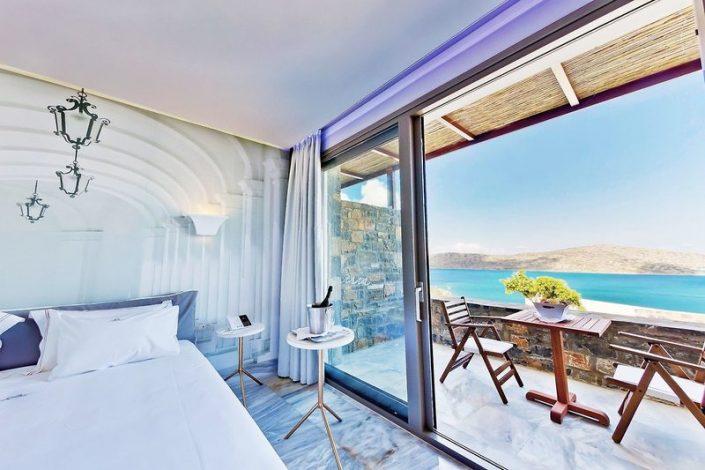 Royal Marmin Bay Kreta - Wohnbeispiel mit Balkon und Meerblick