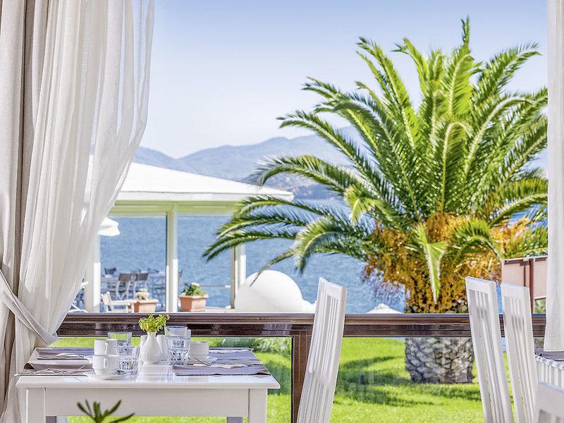 Kassandra Bay Skiathos Griechenland - Im Restaurant