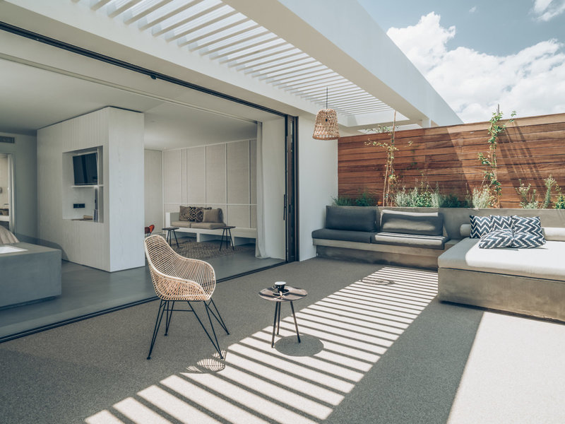 Wohnbeispiel mit Terrasse