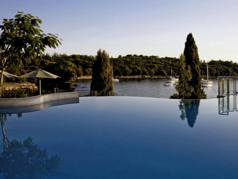 Monte Mulini Rovinj - Infinity Pool Blick