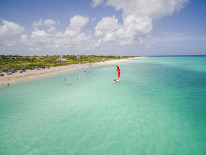Melia Buenavista Kuba - Kleiner Segeltörn vor dem feinsten Sandstrand