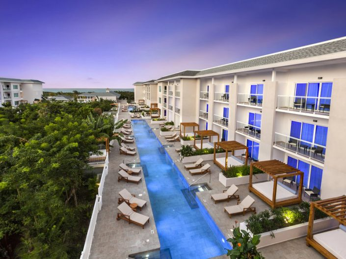 Paradisus Los Cayos Kuba - Blick auf den Swim Up Pool