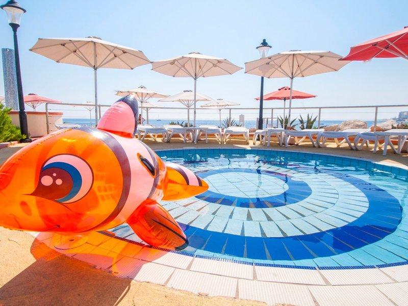 Hotel Hilton Malta- Der Kinderpool / Planschbecken