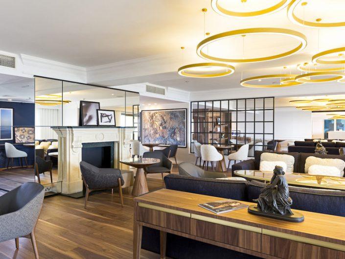 Hotel Hilton Malta- In der Loungebar