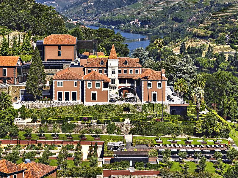 Six Senses Douro 5-Sterne im Douro Valley - Blick auf das erhabene Anwesen