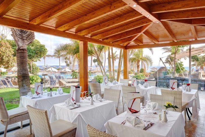 Hipotels Natura Palace Lanzarote - Im Restaurant