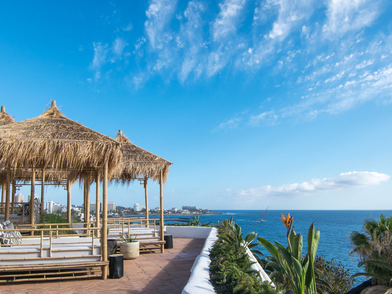 Jardin Tropical Teneriffa - Entspannen beim Blick auf den Atlantik