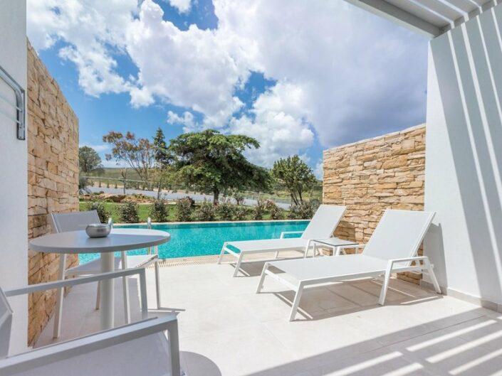Blue Lagoon Ocean Erwachsenenhotel - Wohnbeispiel mit Swim Up Pool