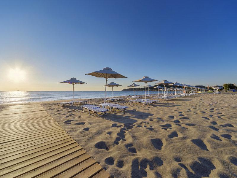 Am wunderbaren Strand