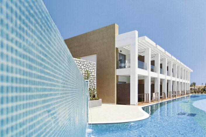 Princess Andriana Resort Rhodos - Wohnbeispiel mit Swim-Up Pools