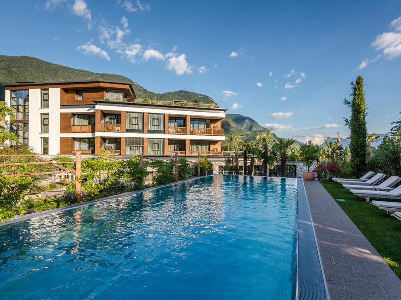 Ansitz Plantitscherhof Südtirol - Am Pool entspannen