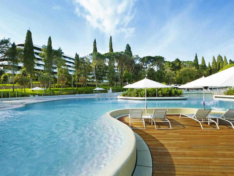 Hotel Lone Rovinj - Am Pool entspannen