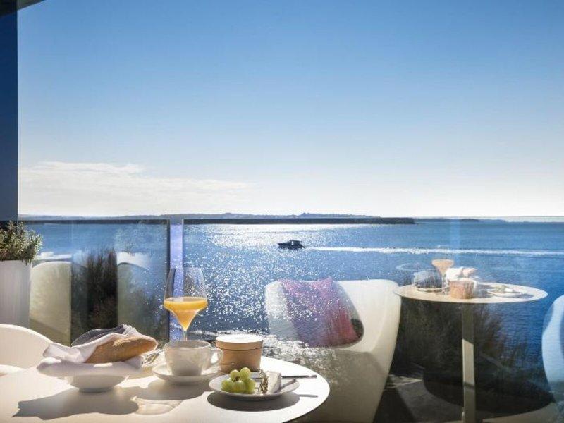 Rivalmare Boutique Hotel Novigrad - Frühstück ganz für sich