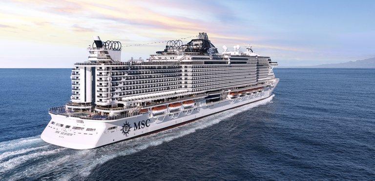 MSC Cruises - Anblick der MSC Seaview