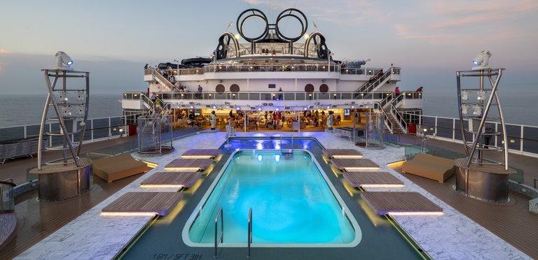 MSC Cruises - Pooldeck MSC Seaview