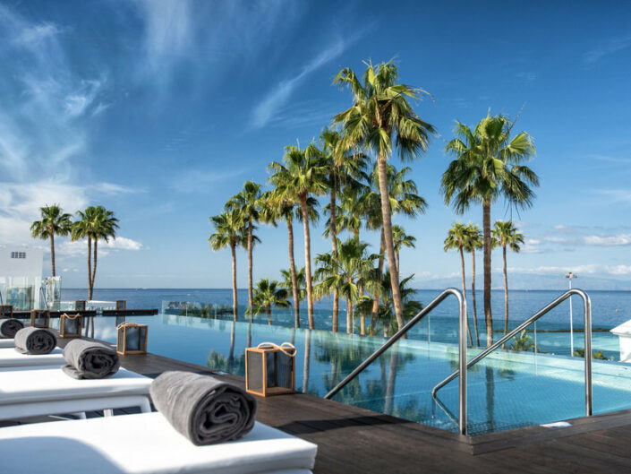 Erwachsenenhotel Guayarmina Princess Teneriffa - Entspannungsbereich am Pool