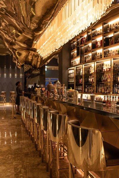 Burj Al Arab Jumeirah Luxushotel - An der Bar