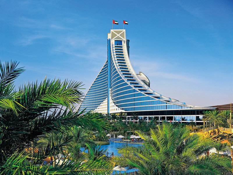 Jumeirah Beach Hotel Dubai - Wunderbarer Blick auf das edle Hotel