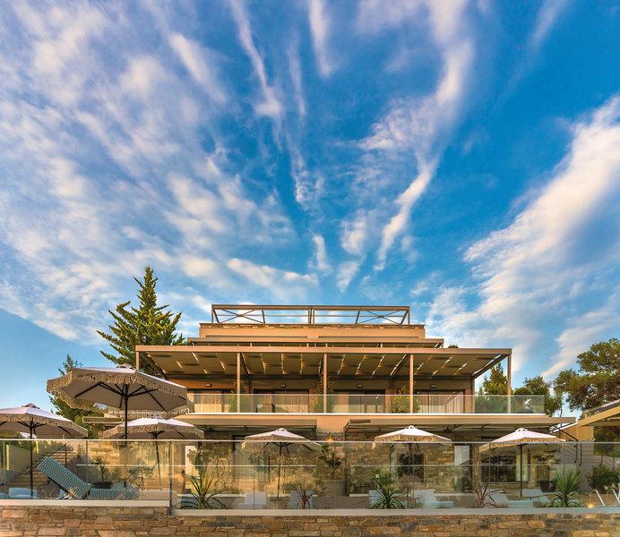 Casa Bloo Chalkidiki - Toller Blick auf das Hotel
